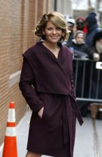 CANDACE CAMERON BURE at The View in New York 12/08/2016