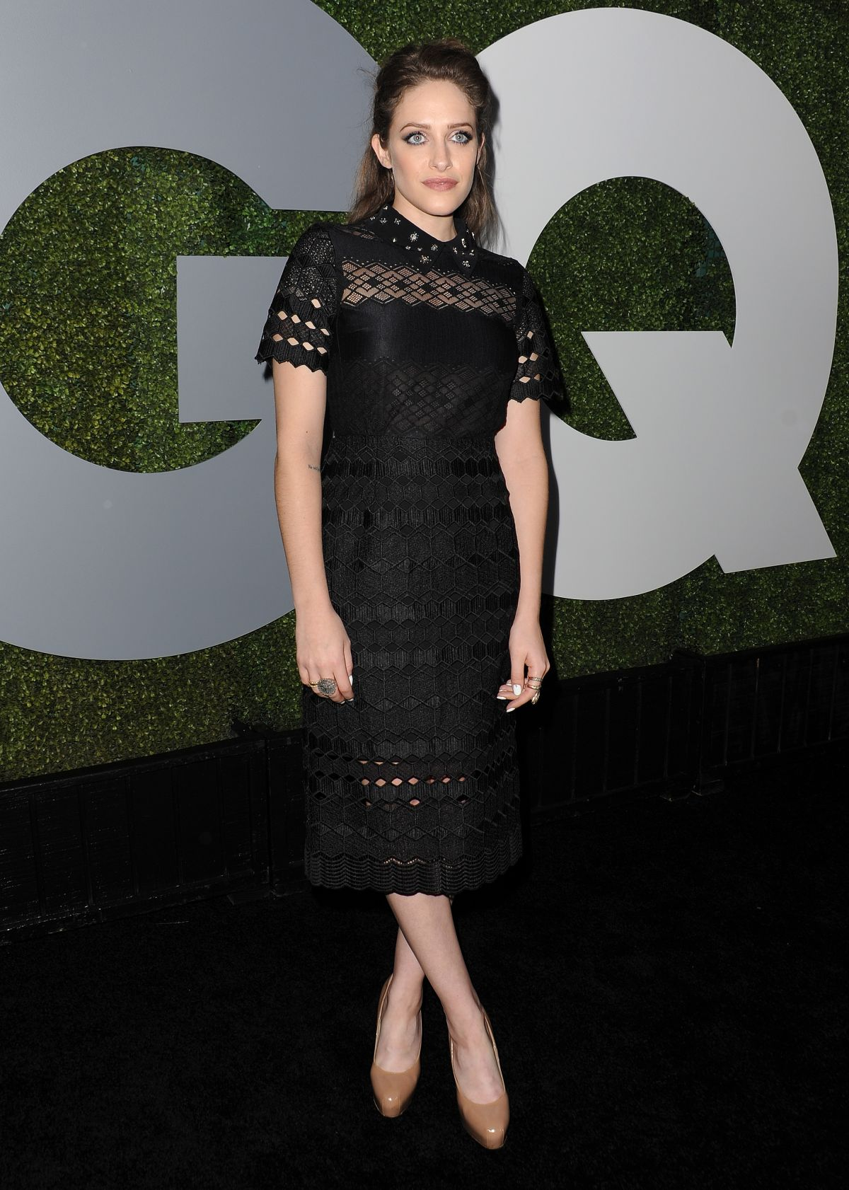 CARLY CHAIKIN at GQ Men of the Year Awards 2016 in West Hollywood 12/08/2016