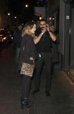 CAROLINE FLACK Leaves Groucho Nightclub in London 12/15/2016