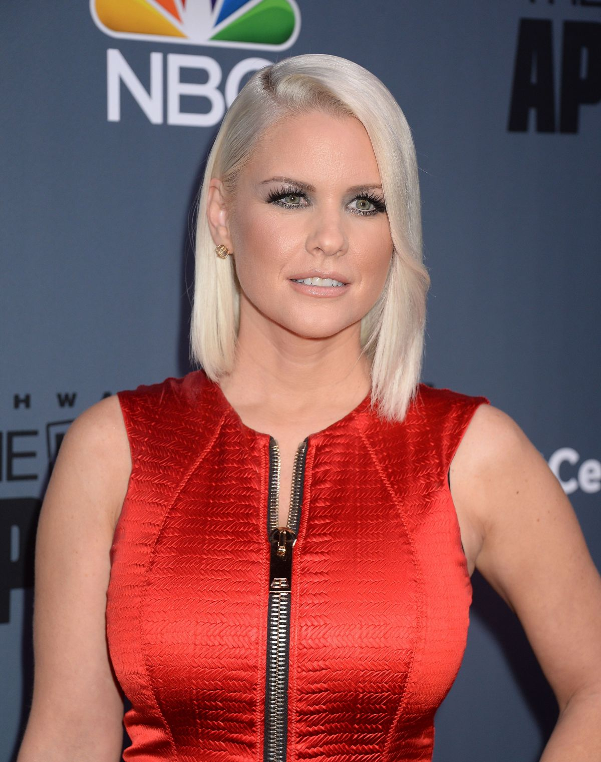 Carrie keagan at new celebrity apprentice press conference in
