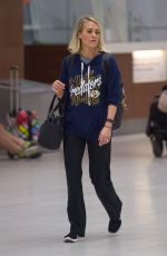 CARRIE UNDERWOOD at Airport in Adelaide 12/04/2016