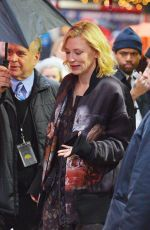 CATE BLANCHETT Arrives at Good Morning America in New York 12/29/2016