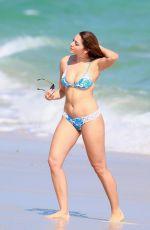 CELINE FARACH in Bikini at a Beach in Miami 12/01/2016