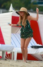 CHANEL WEST COAST on the Beach in Miami 12/21/2016