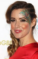 CHARLIE WEBSTER at Team GB Ball in London 11/30/2016