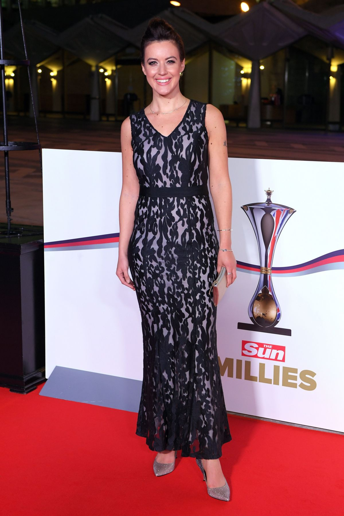 CHARLIE WEBSTER at The Sun Military Awards in London 12/14/2016