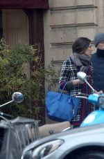 CHARLOTTE CASIRAGHI Out in Paris 12/19/2016