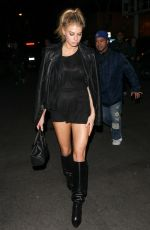 CHARLOTTE MCKINNEY at Delilah Club in West Hollywood 12/01/2016