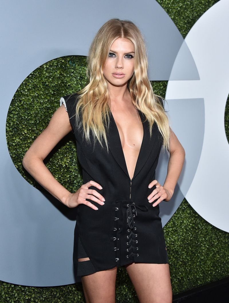 CHARLOTTE MCKINNEY at GQ Men of the Year Awards 2016 in West Hollywood 12/08/2016