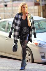 CHARLOTTE MCKINNEY Out and About in New York 12/15/2016