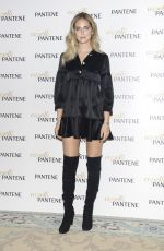 CHIARA FERRAGNI at a Pantene Brand Ambassador Photocall in Milan 12/14/2016
