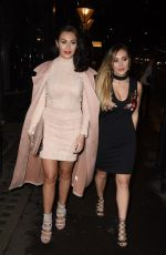 CHLOE and LAURYN GOODMAN at payrollsupermarket.com Launch Party in London 12/13/2016