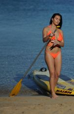 CHLOE GOODMAN in Bikini Paddle Boarding in Mexico 12/25/2016