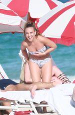 CHLOE GREEN in Bikini on the Beach in Miami 12/27/2016