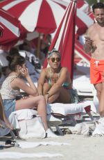 CHLOE GREEN with Friends at a Beach in Miami 12/29/2016