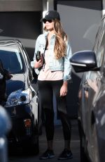 CHRISSY TEIGEN Out and About in Los Angeles 12/20/2016