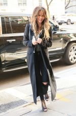 CHRISSY TEIGEN Out and About in New York 12/02/2016