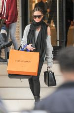CHRISSY TEIGEN Out for Shopping in Beverly Hills 12/23/2016