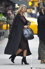 CHRISTIE BRINKLEY Out and About in New York 11/30/2016