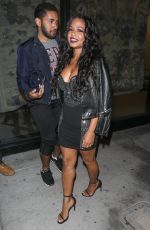 CHRISTINA MILIAN at Catch LA in West Hollywood 12/16/2016