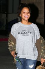 CHRISTINA MILIAN Out in Los Angeles 12/27/2016
