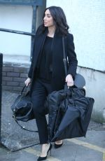 CHRISTINE BLEAKLEY at ITV Studios in London 12/20/2016