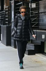 CHRISTY TURLINGTON Leaves a Gym in New York 12/23/2016