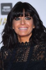 CLAUDIA WINKLEMAN at BBC Music Awards in London 12/12/2016
