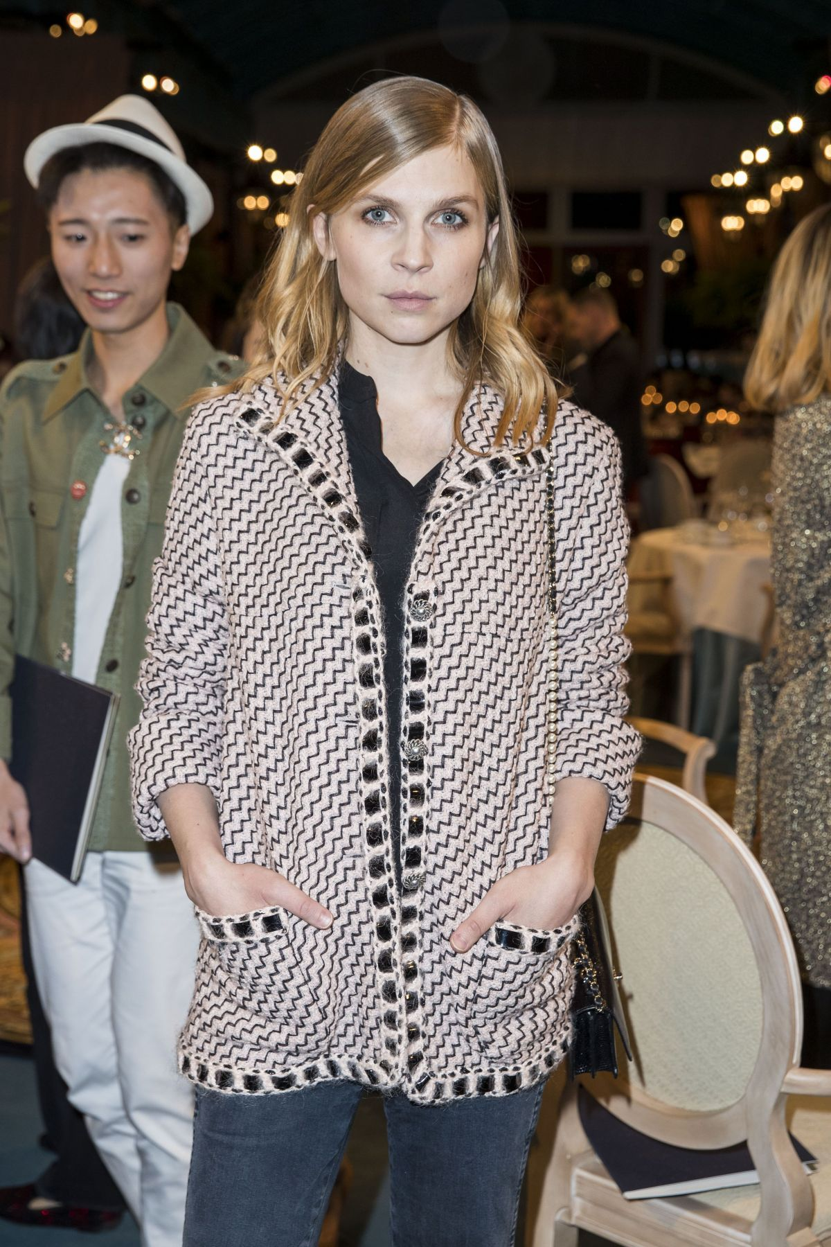 CLEMENCE POESY at Chanel Collection Des Metiers D