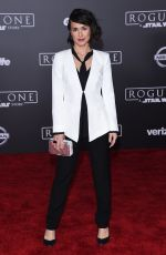 CONSTANCE ZIMMER at Rogue One: A Star Wars Story Premiere in Hollywood 12/10/2016