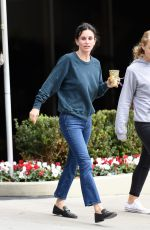 COURTENEY COX Out Shopping in Beverly Hills 12/16/2016