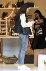 CRYSTAL REED Out for Shopping in Los Angeles 12/21/2016