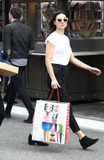 CRYSTAL REED Out Shopping in Los Angeles 12/20/2016