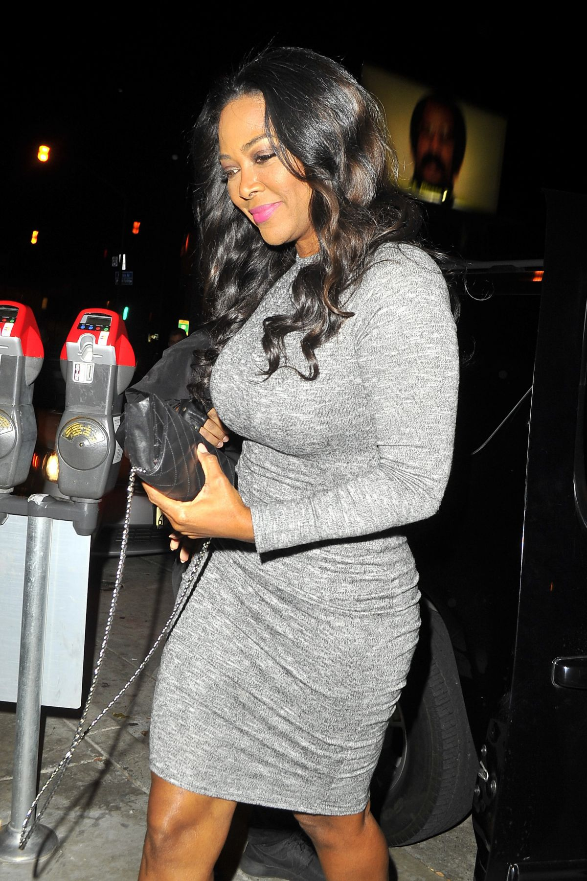 CYNTHIA BAILEY at Catch LA in West Hollywood 12/16/2016