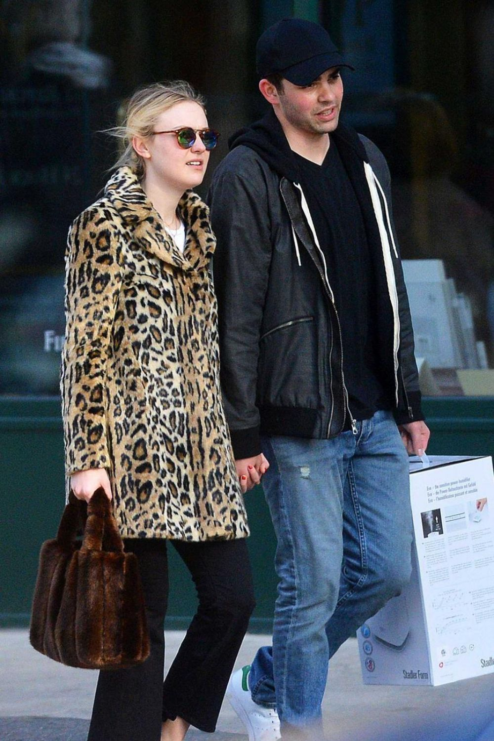 DAKOTA FANNING Out and About in New York 12/17/2016