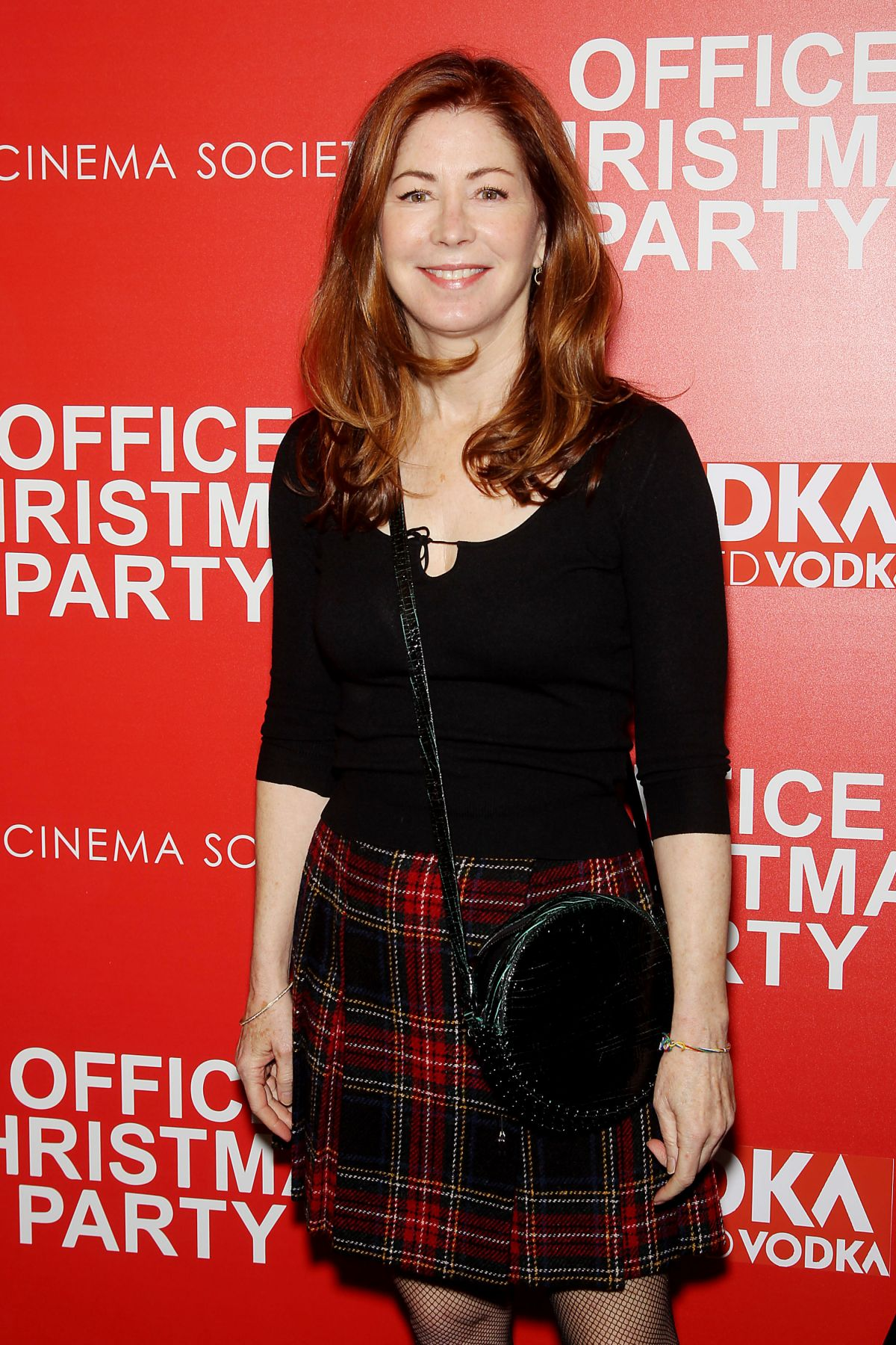 DANA DELANY at Office Christmas Party Screening in New York 12/05/2016