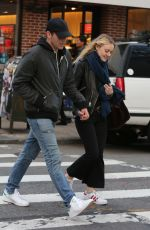 DAKOTA FANNING Out and About in New York 12/03/2016