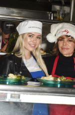DELILAH HAMLIN at Los Angeles Mission Christmas Celebration 12/23/2016