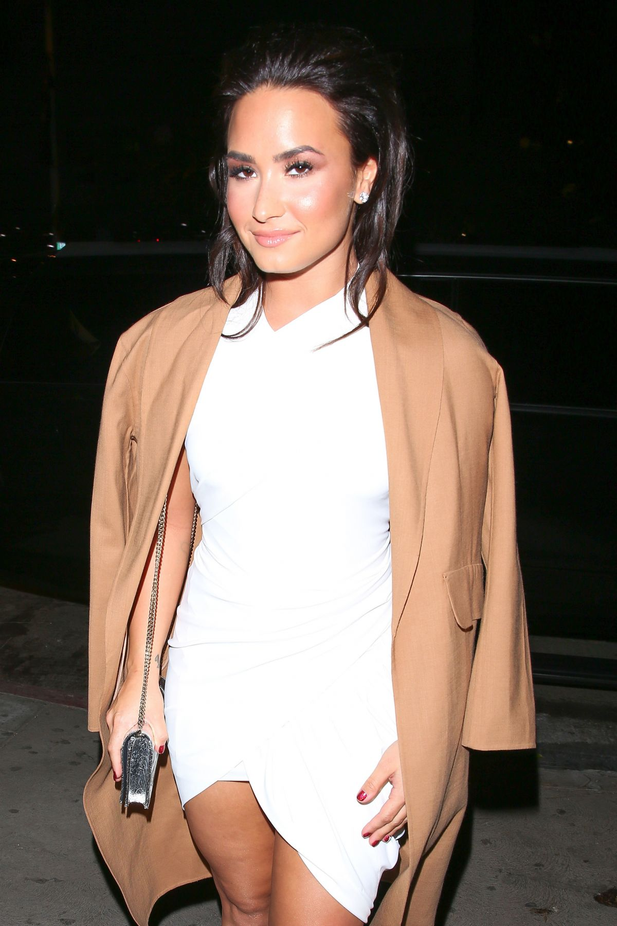 DEMI LOVATO at Philymack Holiday Party in West Hollywood 12/14/2016