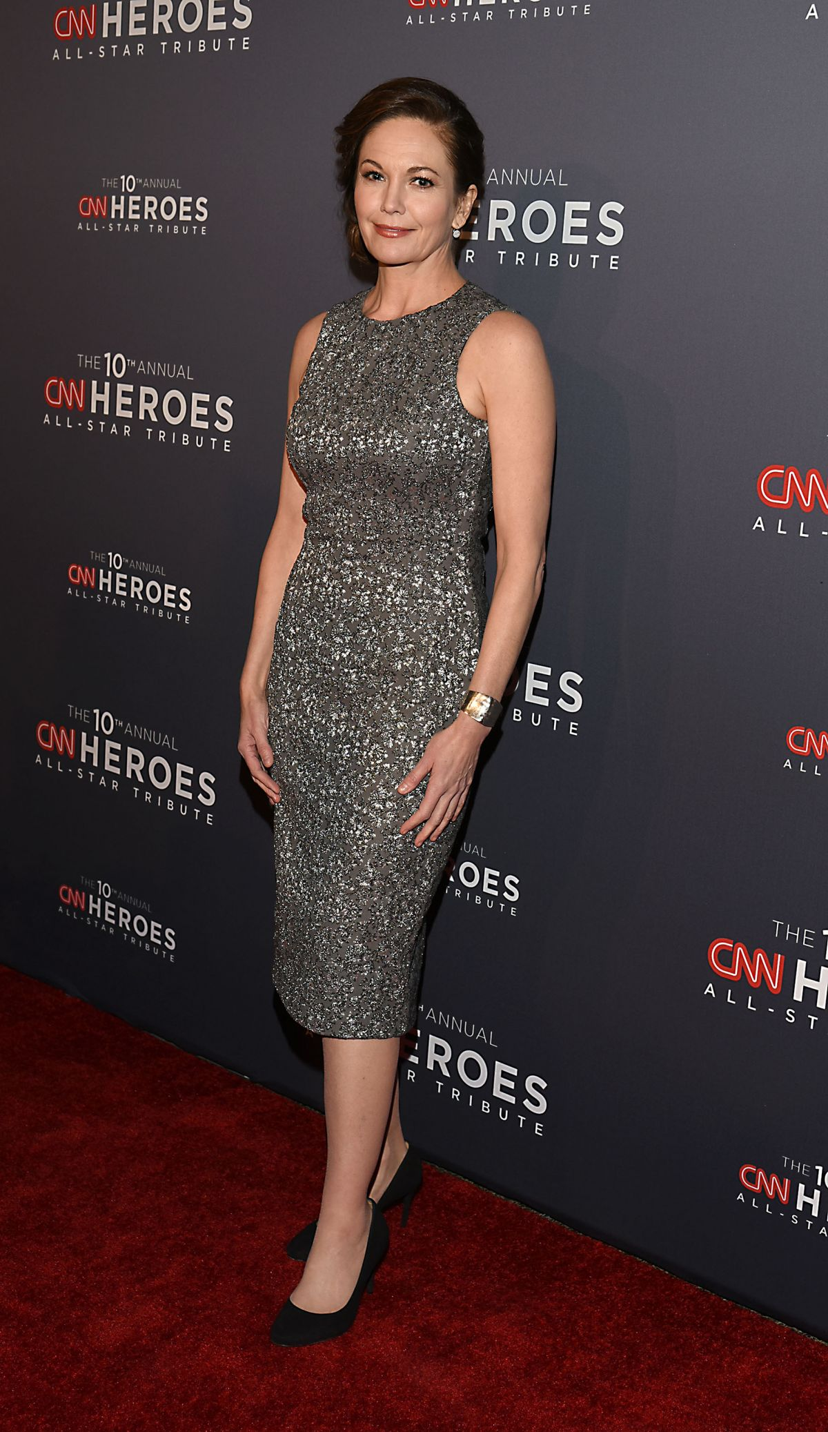 DIANE LANE at CNN 'Heroes' 2016 in New York 12/11/2016