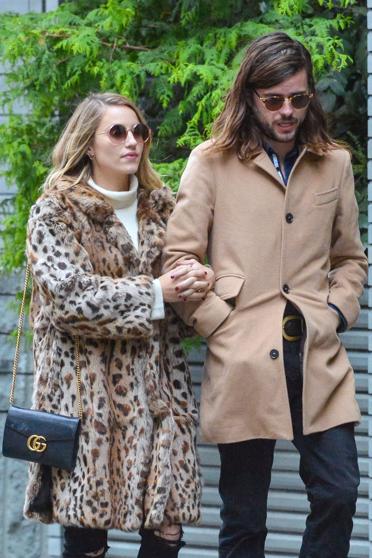 DIANNA AGRON Out with Her Boyfriend in New York 12/12/2016