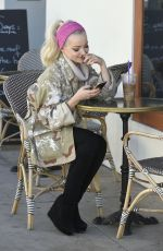 DOVE CAMERON Out and About in Los Angeles 12/19/2016