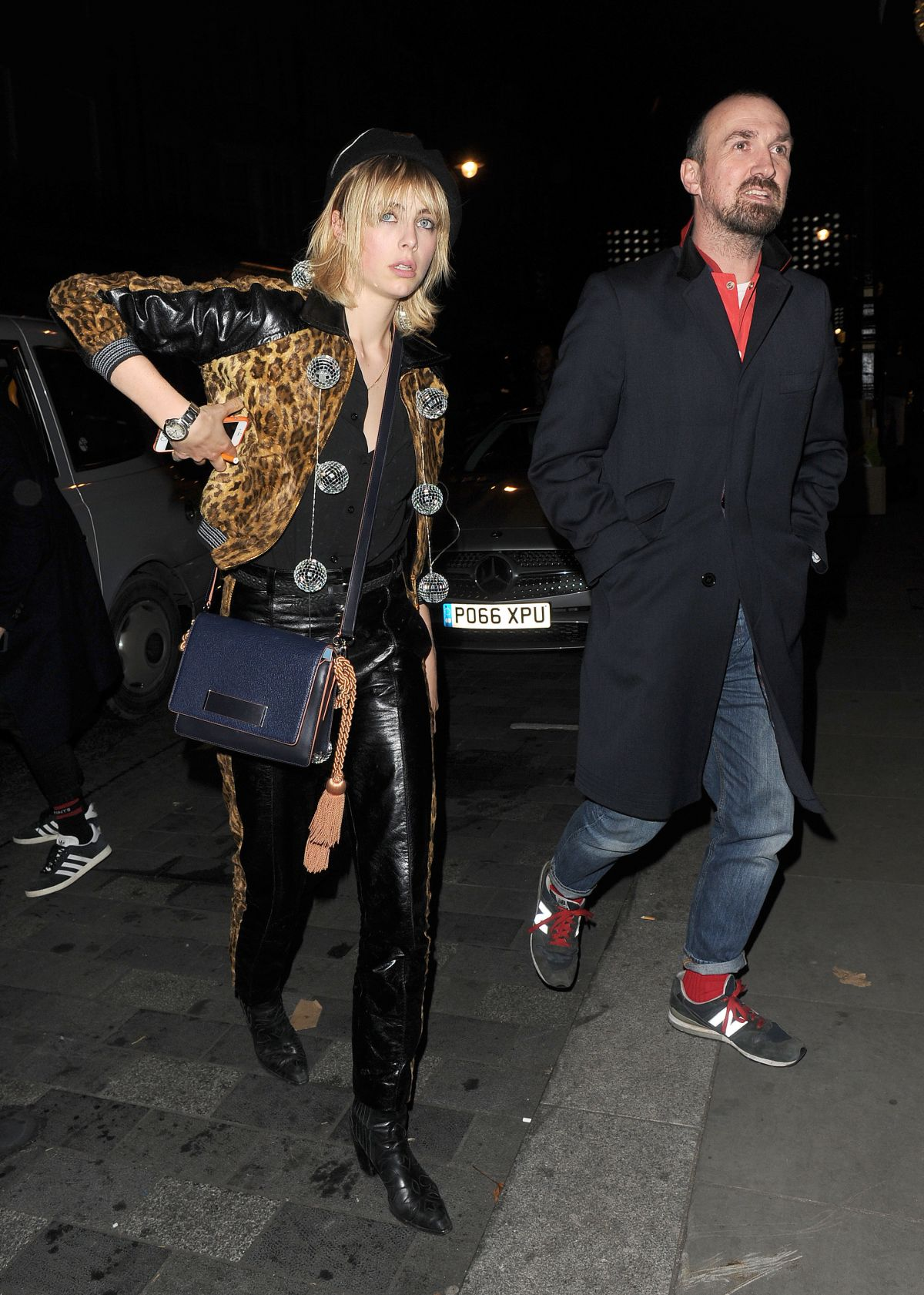 EDIE CAMPBELL at Love Magazine Xmas Party in London 12/16/2016