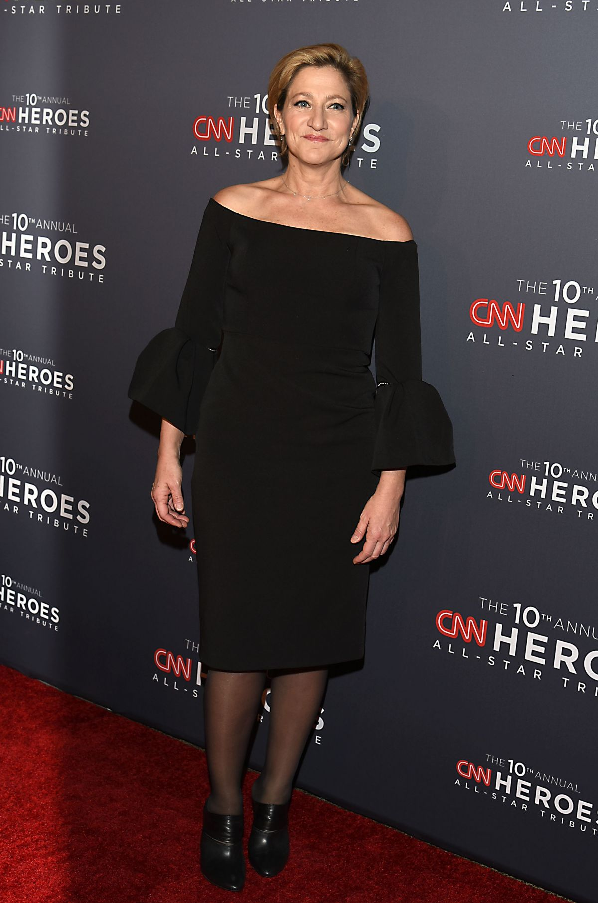 EDIE FALCO at CNN 'Heroes' 2016 in New York 12/11/2016