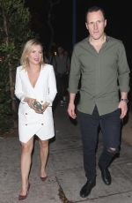 ELISAHA CUTHBERT Night Out in West Hollywood 12/08/2016
