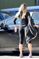 ELIZABETH OLSEN Arrives at a Gym in Los Angeles 12/20/2016