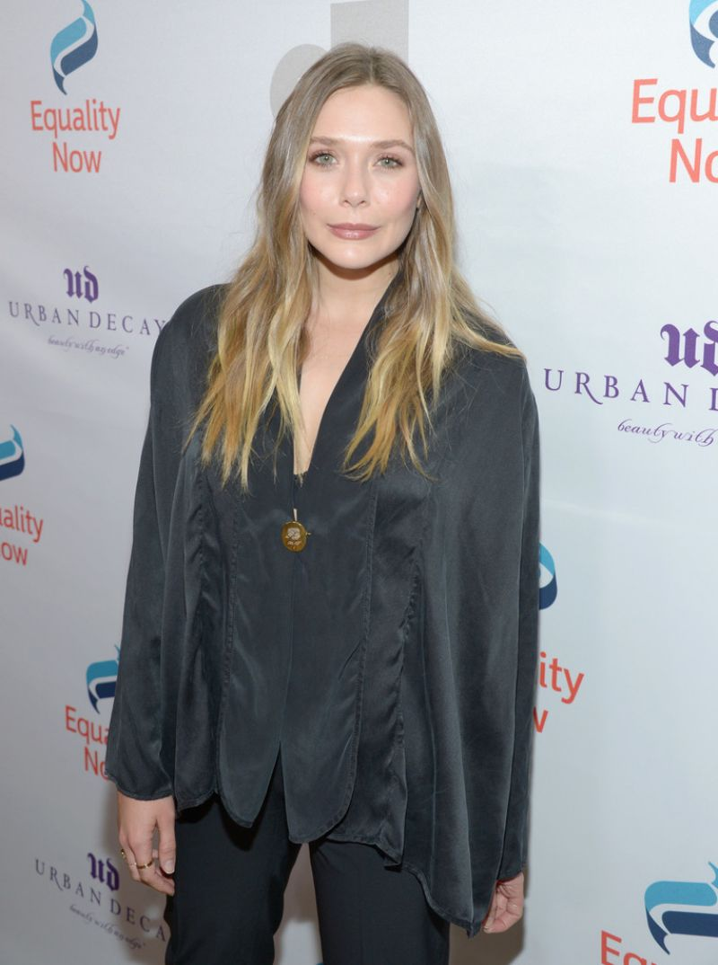 ELIZABETH OLSEN at 3rd Annual Make Equality Reality Gala in Beverly Hills 12/05/2016