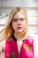 ELLE FANNING for USA Today, 2016