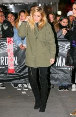 ELLIE GOULDING Arrives at Z100's Iheartradio Jingle Ball at Madison Square Garden 12/09/2016