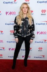 ELLIE GOULDING at Z100's Iheartradio Jingle Ball in New York 12/09/2016